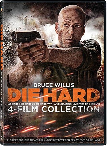 Bruce Willis & Reginald Veljohnson - Die Hard 4-film Collection