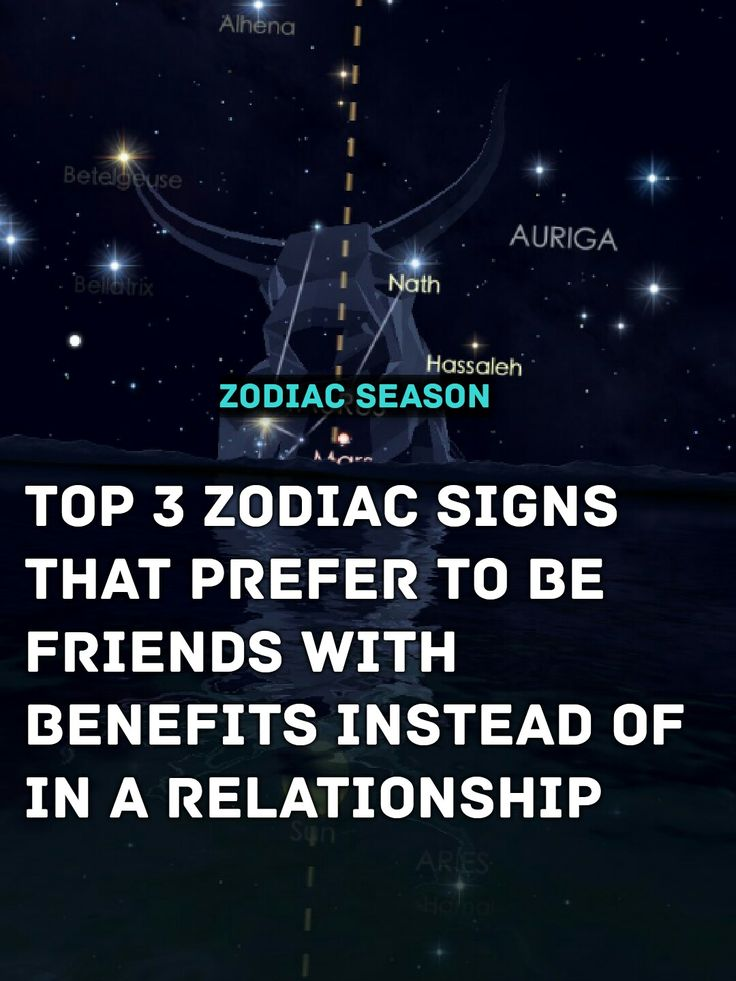 Top 3 Zodiac Signs That Prefer To Be Friends With Benefits -5996