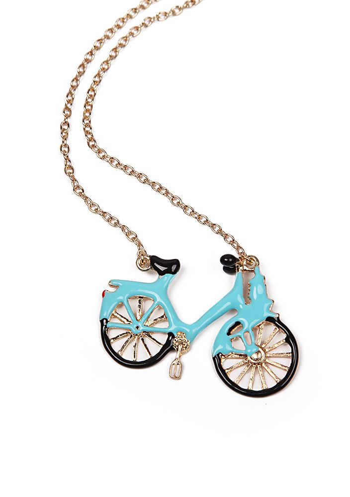 Fashion+Vintage+New+Arrival+Bicycle+Necklace+4.56