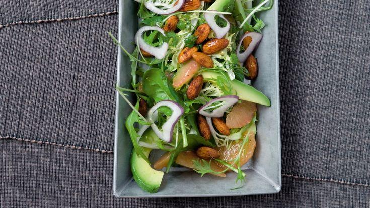 Salat fra Salatværkstedet med avokado