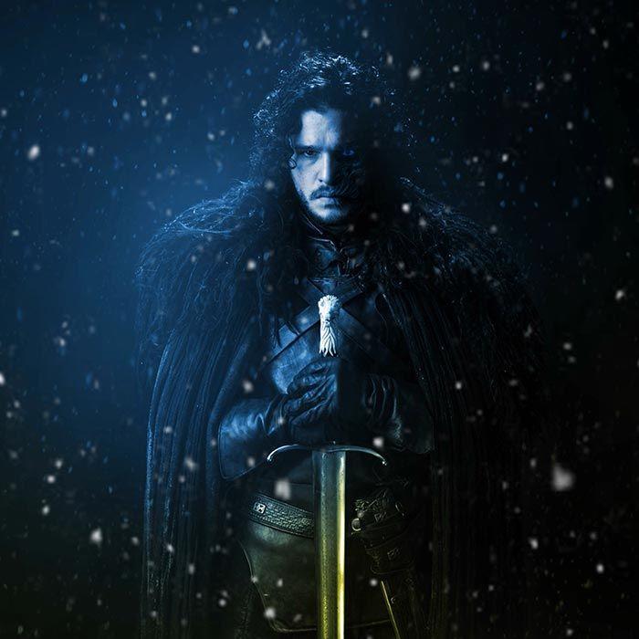 Jon Snow Animated Game Of Thrones Wallpaper Engine Jon Snow Winter Is Coming Wallpaper Fan Poster