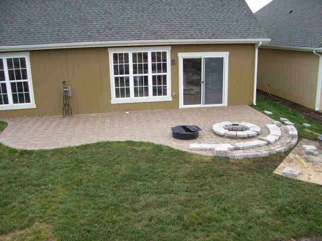 20 best images about patio shapes on Pinterest | Fire pits ... on Patio Shape Designs id=97031
