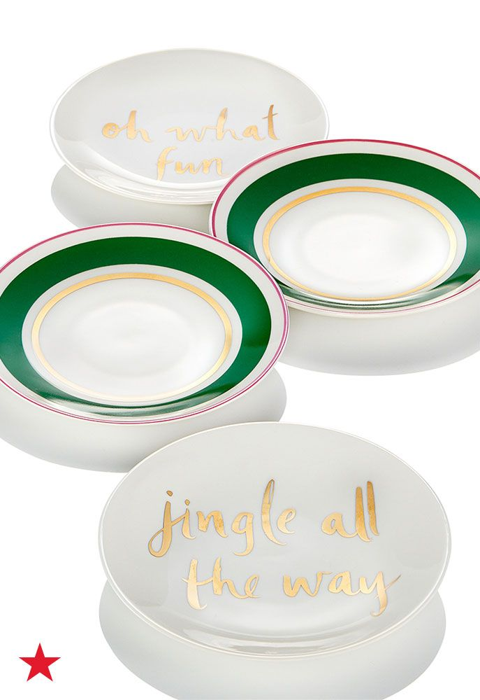 Hosting A Holiday Dinner Party This Year? These Kate Spade New York Tidbits  Plates Are Perfect For Appetizers And Dessert Treat.