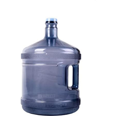3 Gallon Water Bottle attached (with quick release) under sink to use watering plants.