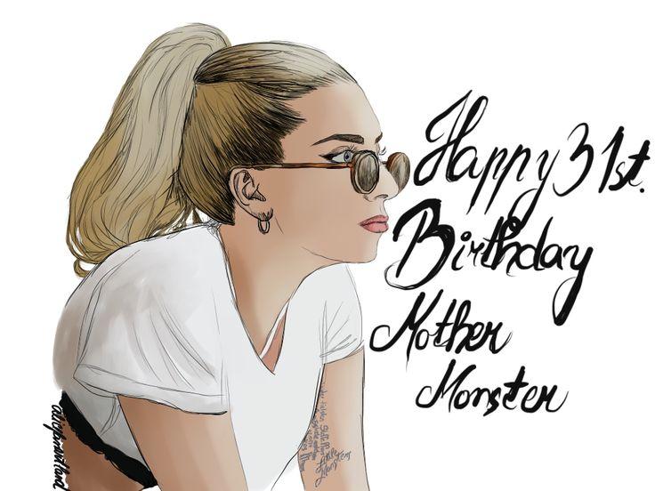 Happy Birthday Mother Monster ❤