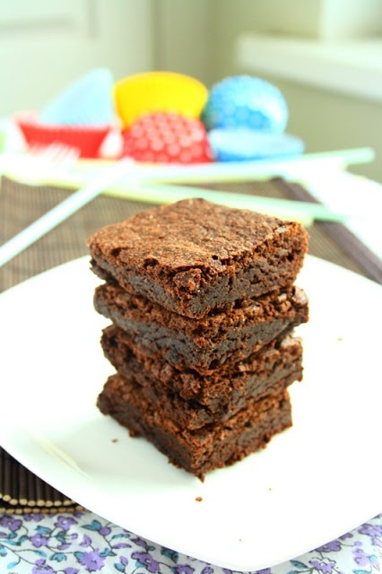 chewy brownies :) | Brownie mix | Pinterest