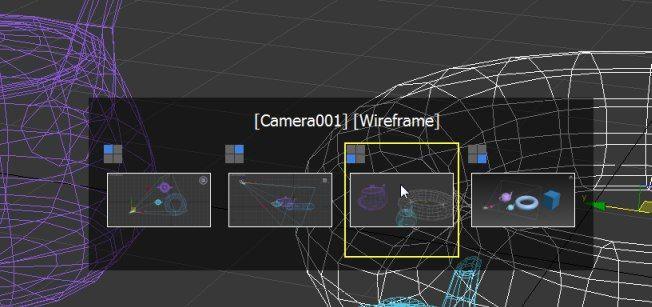 Когда вы сделали один вид во весь экран (Alt+W) - можно переключаться между видами сочетанием Win+Shift (Win - флажок)