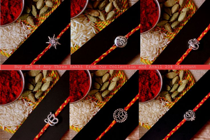 Buy Pure Silver Rakhi With Free Shipping