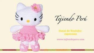 Tutorial Amigurumi Esperanza Rosas : Mas de 25 ideas incre?bles sobre Crochet de hello kitty en ...