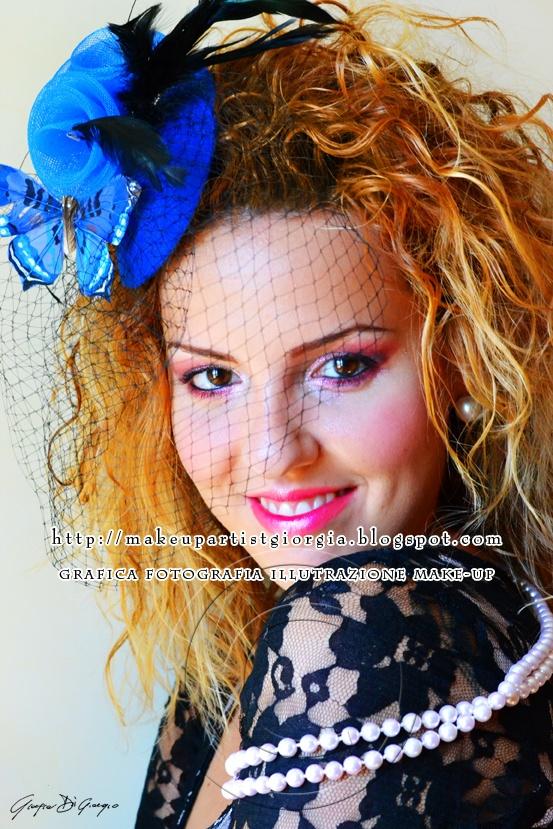 Miss Mini Hat by Giorgia Di Giorgio make-up