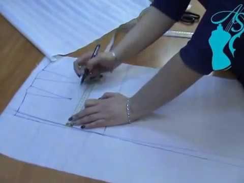 Юбка с крупными складками. Совместный пошив. Урок 2