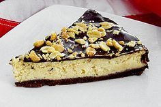 All american Chocolate and Peanut Butter Cheesecake (Rezept mit Bild) | Chefkoch.de