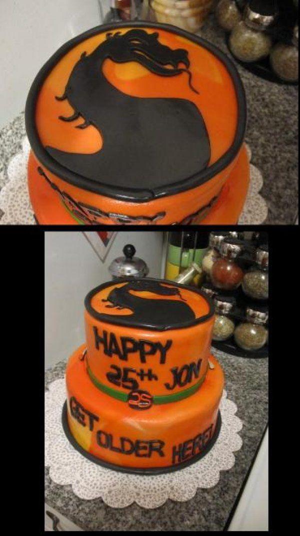 Mortal Kombat Birthday Cake
