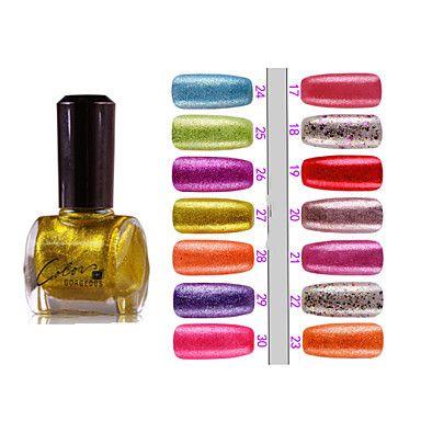 1PCS Matte Nagellak Binnen Golden Poeder (12ml, verschillende kleuren) – EUR € 3.29