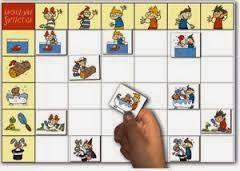 Imágenes de juego para construcción de Oraciones- Gratis Estos juegos ayudan a los niños muy pequeños a aprender el concepto abstracto de la estructura de las oraciones y la gramática de una forma divertida e intuitiva. Le quitan el aburrimiento y la presión de la memorización y fomentan el pensamiento cognitivo