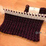 簡単編み物 マフラー