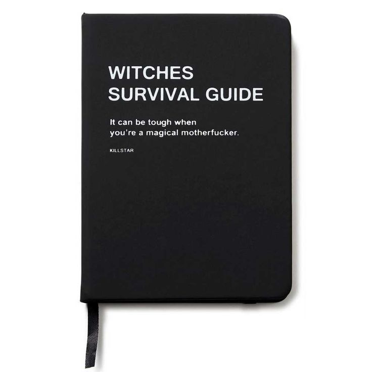 Witches survival guide. For all your spells, herbs and rituals.