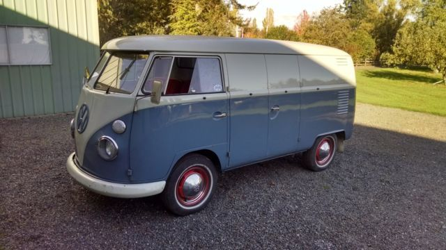 I've owned one 1959 VW panel van with double doors on both sides. Bought this bus while working at a VW dealer in Springfield, IL. The bus was towed to the dealer after the engine blew on the highway. Fifty dollars later it was mine. The bus was from California and after all those years (I bought the bus in the late 1970's) the undercarriage still had the original paint and more important, no rust. After a few years in Illinois winter salt the rust started.