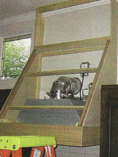 In the case of the range hood, I knew what I didn't want: I was completely sure I didn't want a microwave in its place (for me, the main c...