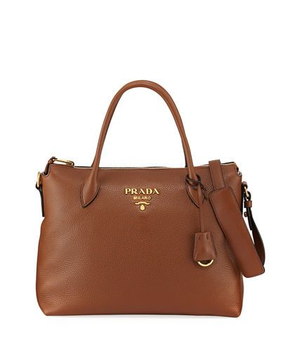 V3P3H Prada Daino Medium Leather Tote Bag  6950fb341f74d