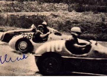 #105 Felice Bonetto (I) - Maserati A6GCM (Maserati 6) disqualified push start after spin (10) Officine Alfieri Maserati #110 Marcel Balsa (F) - BMW Speciale (BMW 6) engine (25) Privateer #128 Hans Klenk (D) - Veritas Meteor (Veritas 6) 11 (8) Privateer