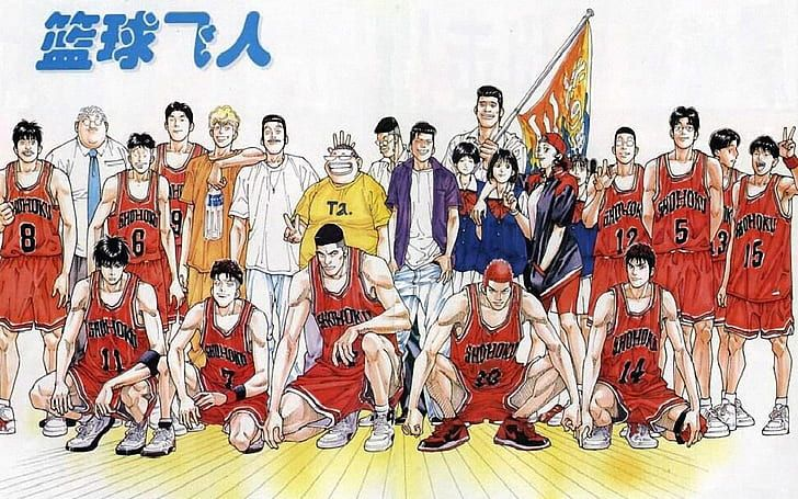 slam dunk anime wallpaper hd Google Search i 2020