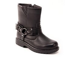 Deer Stags Curb Biker Boys Toddler & Youth Boot