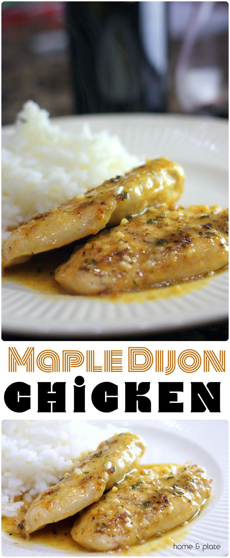 Maple Dijon Chicken combines the sweet flavor of maple syrup with tangy Dijon mustard to create a chicken dish that's like nothing you've ever tasted.