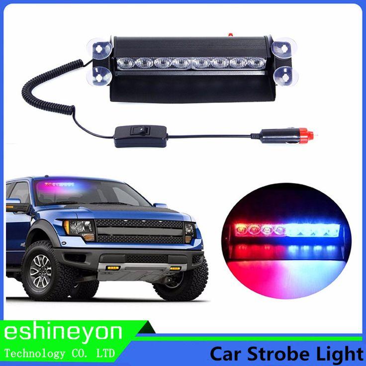 $15.99 (Buy here: https://alitems.com/g/1e8d114494ebda23ff8b16525dc3e8/?i=5&ulp=https%3A%2F%2Fwww.aliexpress.com%2Fitem%2FCar-Styling-12W-Strobe-Flash-Warning-LED-Light-Bar-Trailer-Marker-Daytime-Running-Lights-Police-Fireman%2F32687488641.html ) 12W 8 LED Car Vechicle Emergency Strobe Flasher Auto Warning Light  Police Light Fireman Caution Pilot Lamp Red Blue White Amber for just $15.99