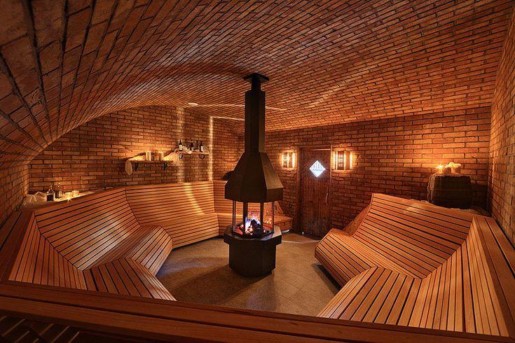 Masimus sauna interier