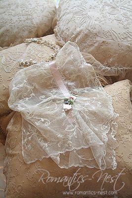 Lace baby bonnet ~ love ~❥