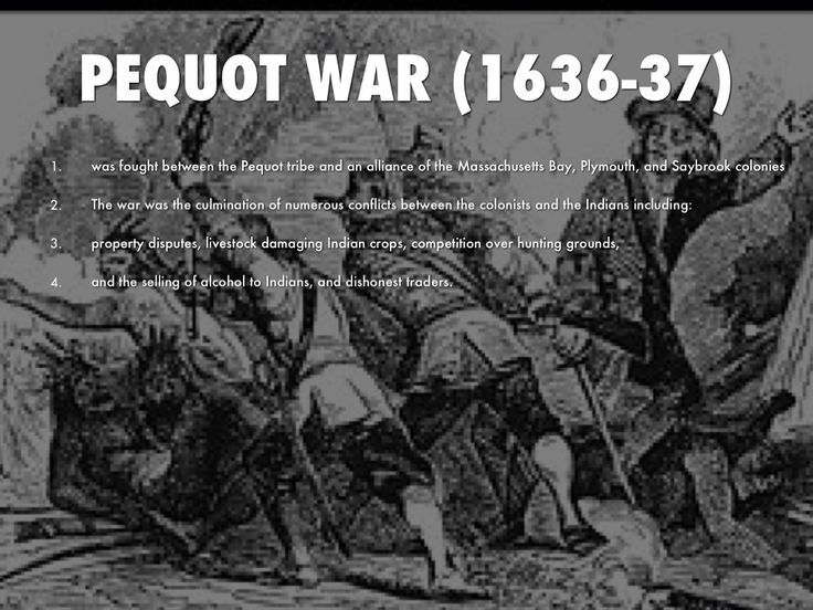 The Pequot War and King Philip's War Essay Sample