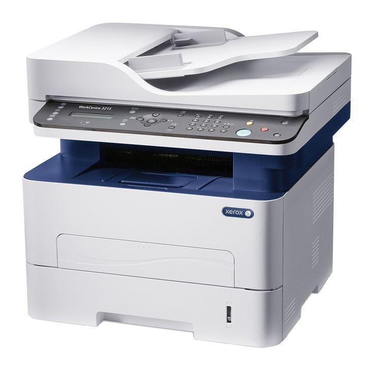 Aceste noi imprimante multifunctionale Xerox WorkCentre 3215 sunt cele mai recente intrări în gama monocroma pentru grupuri mici de lucru.