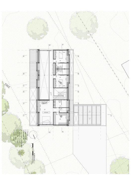 BO House,Planta Segundo Piso