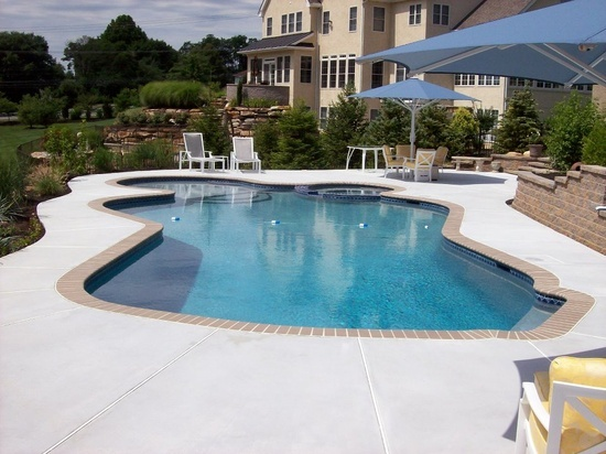 One Of Our Most Popular Pool Designs Is Mountain Lake