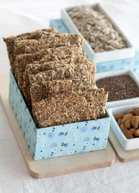 FIBERHUSK: Dr. Hexebergs frøknekkebrød lages med fiberhusk, som fås i mange dagligvare- og helsekostbutikker.