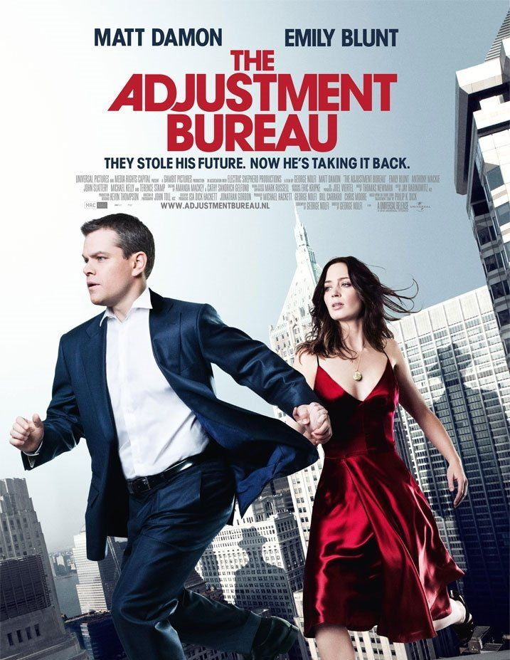 L Agence 2011 The Adjustment Bureau Matt Damon Emily Blunt