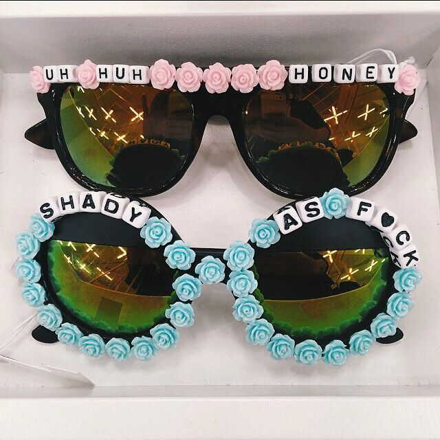 Festival shades? CHECK. || Rad + Redefined Rad + Refined Uh Huh Honey Shades & So Shady Circle Shades: http://www.nastygal.com/accessories-eyewear/rad--refined-so-shady-circle-shades?utm_source=pinterest&utm_medium=smm&utm_term=instagram&utm_content=show_off&utm_campaign=pinterest_nastygal