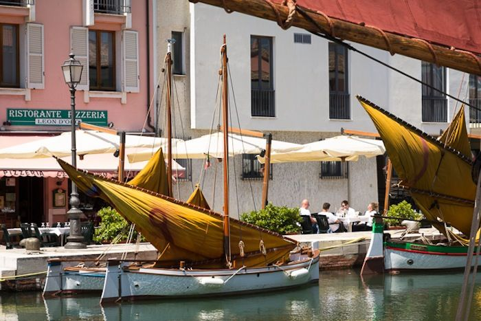 It's both little and little-known compared to Venice and it's Grand Canal but it has a very big name attached to it.The Port-Canal in Cesenatico has stayed
