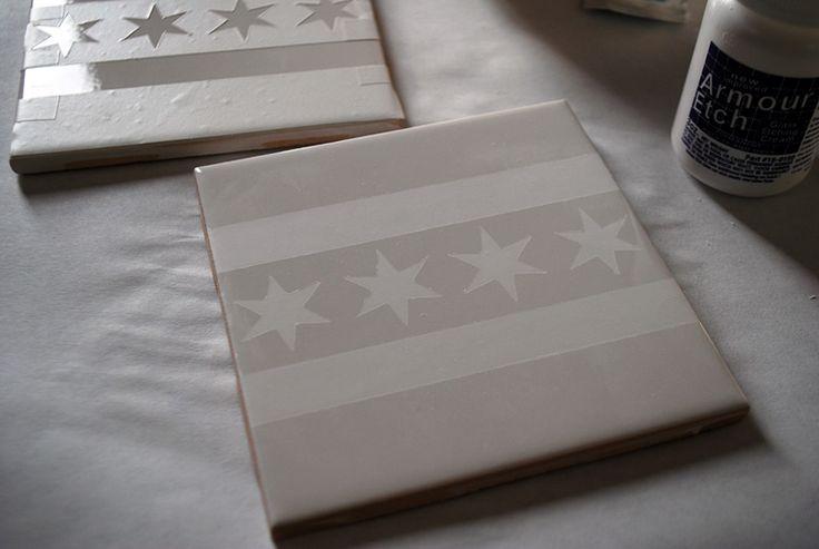 38 best images about tile on pinterest diy tiles photo for Ceramic tile craft ideas