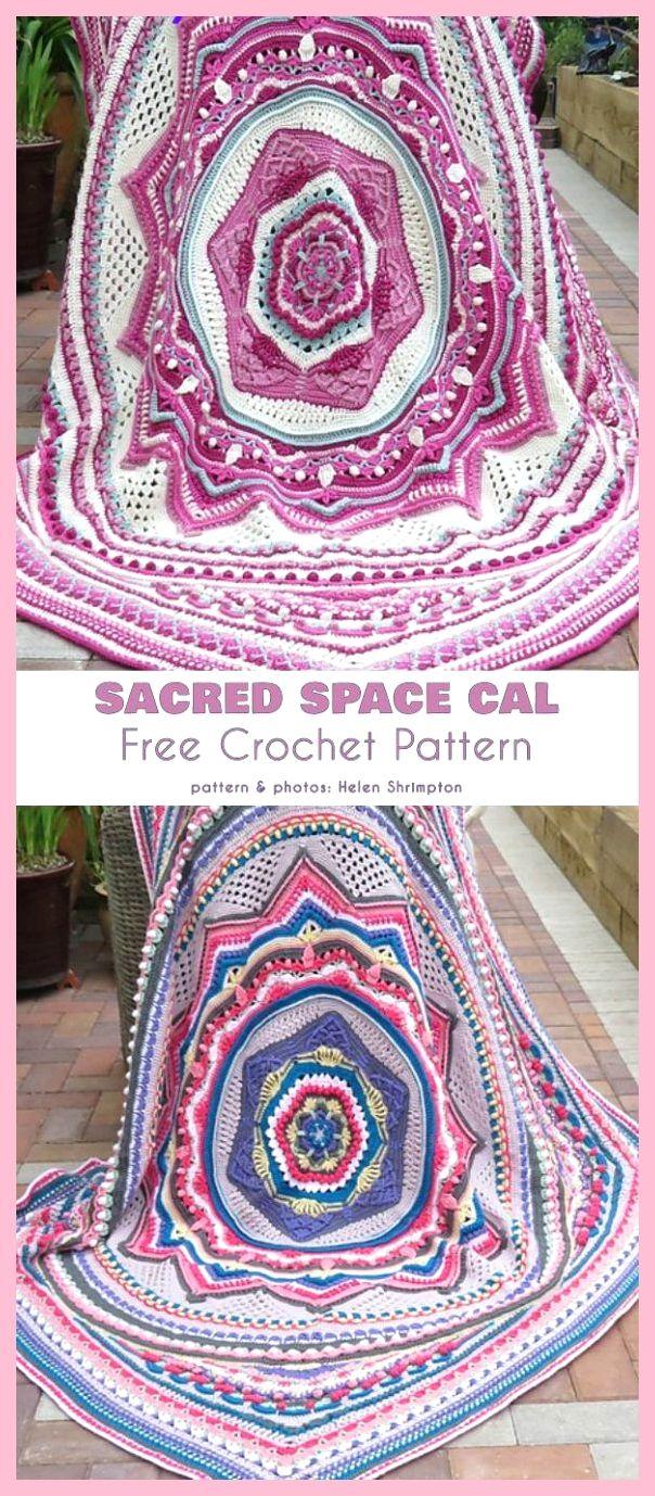 Welp Sacred Space Cal Deken Gratis haakpatroon (Your Crochet)   Crochet JW-74