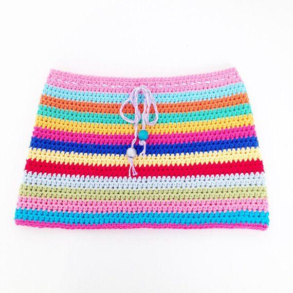Crochet Girls Skirt by annemariesbreiblog on Etsy