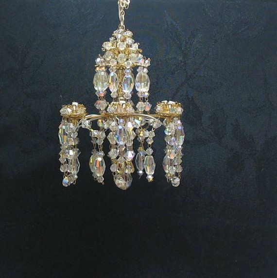 Swarovski Crystal Dollhouse Chandelier: 1000+ Images About Mini-candelier On Pinterest