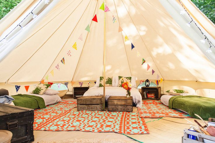Amber's Bell Tent Camping