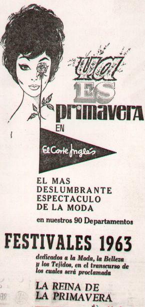 Primavera El Corte Inglés: http://mimarcafavorita.net/2012/03/20/el-corte-ingles-celebra-70-anos-de-primaveras-con-una-seleccion-de-carteles-de-ya-es-primavera-en-el-corte-ingles/