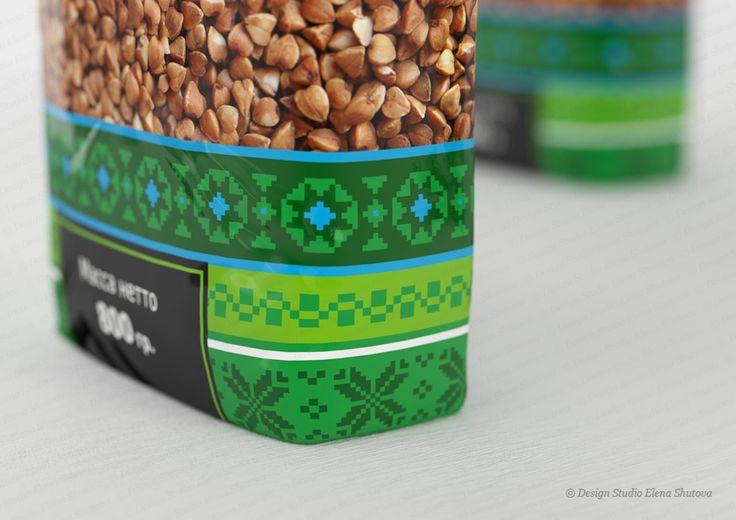Дизайн упаковки для гречневой крупы