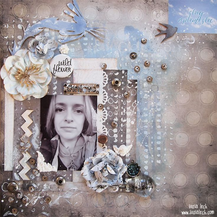 wild flower #inlove {Words&Paintery} | Tusia Lech with Yuletide collection from 7 Dots Studio and UmWowStudio products
