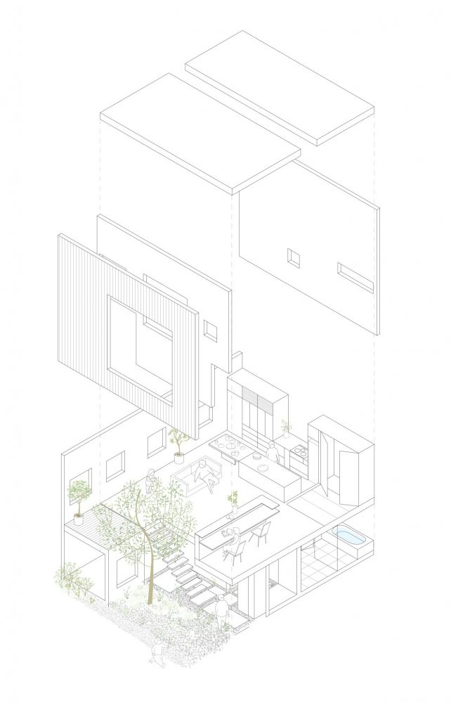 Frame - House, Hiroshima, Japan - by UID Architects