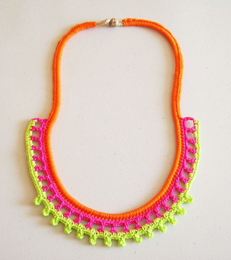 Neon necklace/ Collar neón tutorial en español