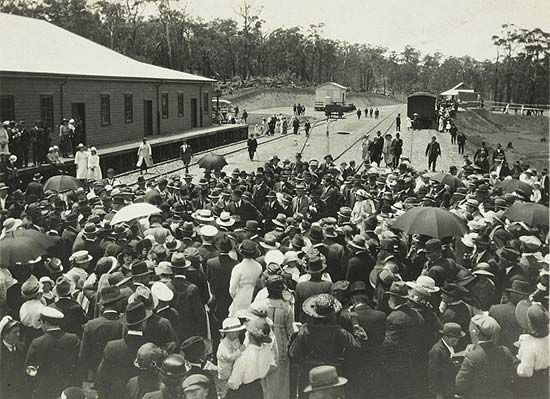 Red Hill Railway Station Opening
